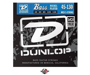 DUNLOP DBN45130 Струны для бас-гитары 5 струн .045-.130