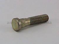 Шпилька (пресс-болт) М12х1.5х40/60 цинк, шлиц 13.0