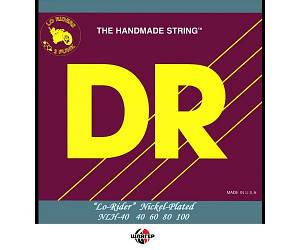 DR LO RIDER NLH40 NICKEL Струны для бас-гитары .040-.100