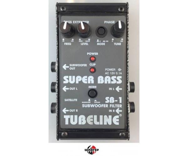 TUBELINE SB1 Subwoofer Filter Кроссовер стерео в виде педаль для гитары