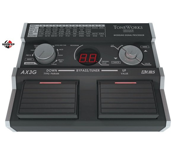 KORG AX 3G Процессор для электрогитары