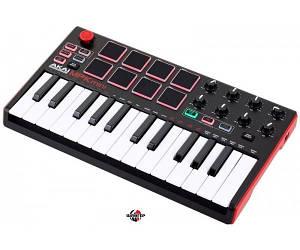 AKAI MPK MINI MK2 BLACK MIDI клавиатура USB 25 клавиш