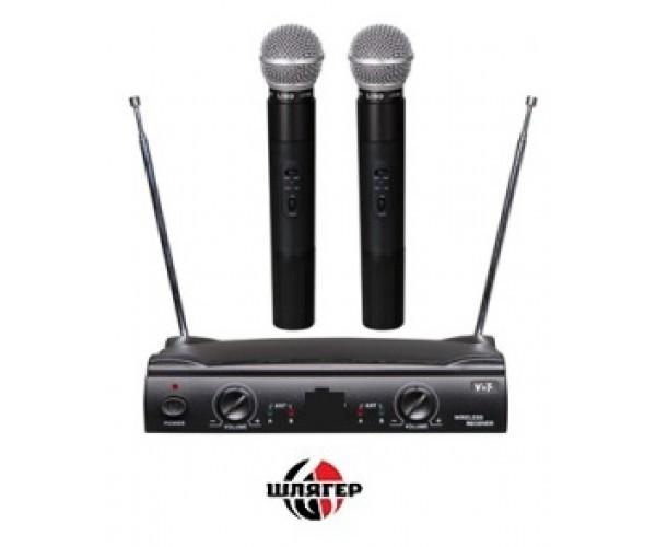 BIG UT42 Радиосистема UHF, два ручных микрофоны