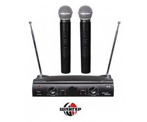 BIG UT42 Радіосистема UHF, два ручних мікрофони