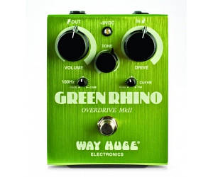Педаль для электрогитары Dunlop WHE202 WAY HUGE Green Rhino Overdrive MK2