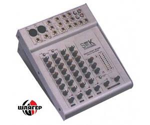 SOUNDKING AS602AC * Микшерный пульт с усилителем 2 + 2, 2х50Вт.