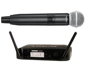 Радиосистема цифровая Shure GLXD24ESM58 один ручной микрофон