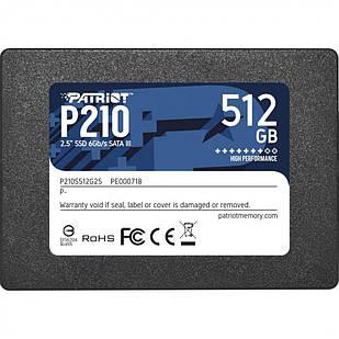 SSD-диск Patriot Burst 512GB TLC 2.5''