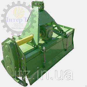 Почвофреза 1GLN160 боковой шестеренчатый редуктор, 6 ножей на диске, кардан