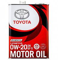 Моторне масло Toyota Motor Oil 0W-20 4л