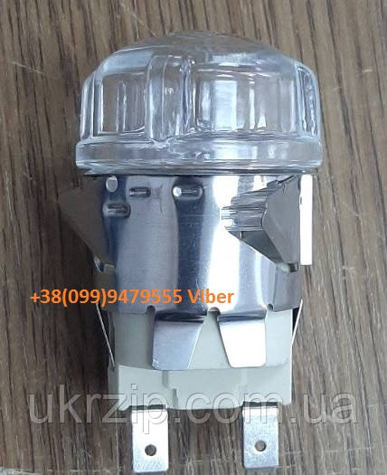 Лампа с патроном в комплекте 230В/25В для пицца-печи GGF и др.