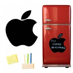 Магнітна дошка для крейди Apple 40*43см.