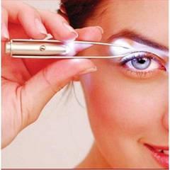 Пінцет з підсвіткою LED Flashlight eyebrow Tweezers