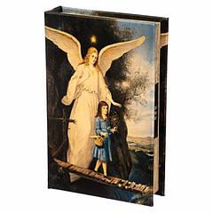 Книга сейф з кодовим замком Ангел 26 см