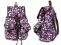 Рюкзак Холщовый Pattern Цветочный