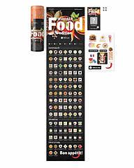 Скретч постер 100 справ Food edition