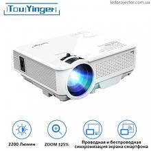 LED проектор TouYinger M4 (screen mirroring version)