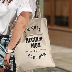 Эко сумка Regular mom (бежевая)