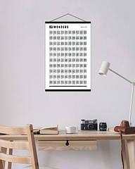 Скретч постер 100 справ Wonders