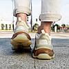 """Женские кроссовки Balenciaga Triple-S Clear Sole """"Beige"""" в стиле Баленсиага, фото 9"""