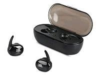 Беспроводные спортивные Bluetooth наушники JBL TWS 4 by harman блютуз гарнитура с кейсом для зарядки