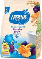 Каша молочная Nestle рисовая со сливой, абрикосом и бифидобактериями, 230 г, нестле