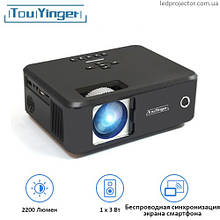 Проектор TouYinger X20 (screen mirroring version)