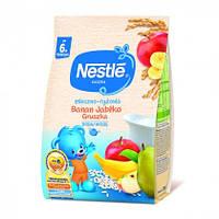 Каша молочная Nestle рисовая с бананом, яблоком, грушей и бифидобактериями, 230 г, нестле
