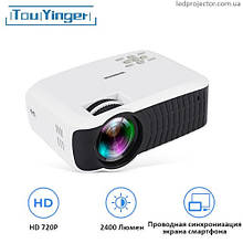 Проектор TouYinger T4 (wired mirroring version)