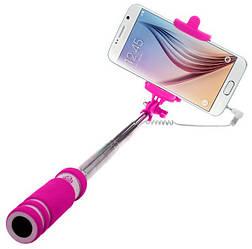 Монопод для селфи Mini Soft 140-600 mm Pink