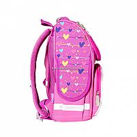 Рюкзак школьный каркасный SMART Розовый (558048), фото 2