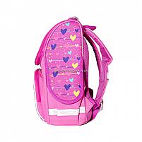 Рюкзак школьный каркасный SMART Розовый (558048), фото 5