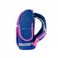 Рюкзак шкільний каркасний SMART Синій (558050), фото 4