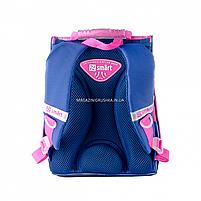 Рюкзак шкільний каркасний SMART Синій (558050), фото 5