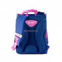 Рюкзак шкільний каркасний SMART Синій (558050), фото 6