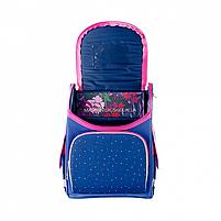 Рюкзак шкільний каркасний SMART Синій (558050), фото 7