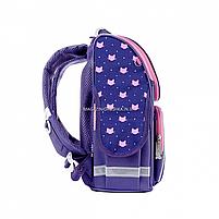 Рюкзак школьный каркасный SMART Фиолетовый (558049), фото 2