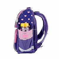 Рюкзак школьный каркасный SMART Фиолетовый (558049), фото 3