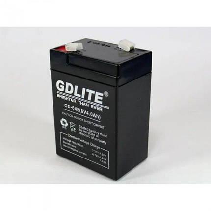 Акумулятор Battery GD 645 6V, фото 2
