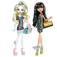 Сет из 2х кукол Monster High Lagoona Blue and Cleo de Nile Scaris Лагуна и Клео Скариж
