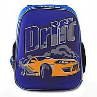 Школьный ортопедический рюкзак для мальчика с машинами, фото 1