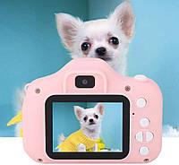 Цифровой детский фотоаппарат Summer Vacation Smart Kids Camera HH-8 для фото и видеосъёмки 3MP Фильтры Игры