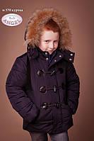 Зимние куртки Baby angel, слимтекс, мех натуральный р 128
