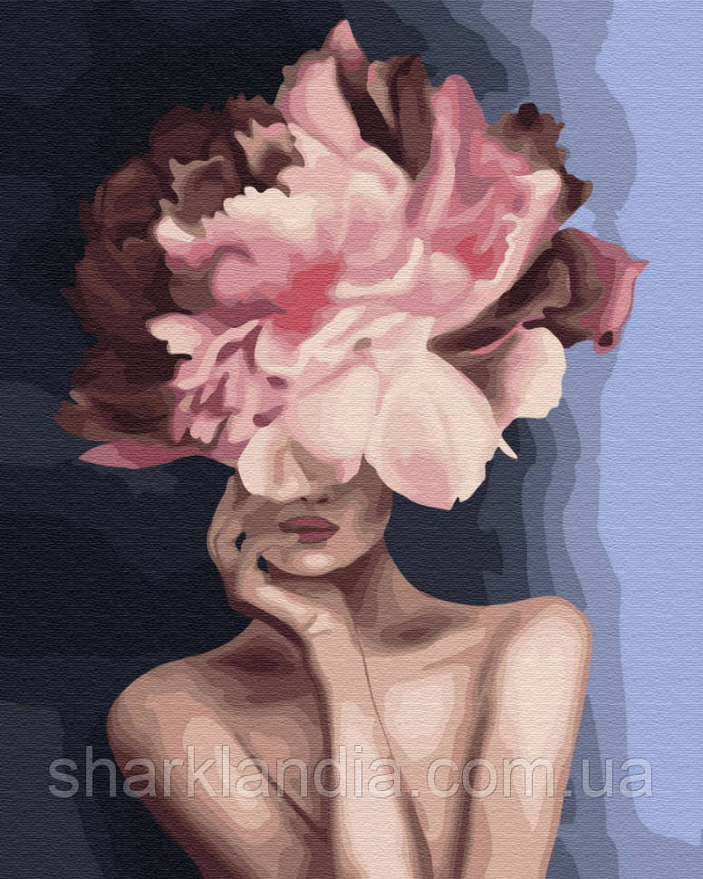 "Картина по номерам. Brushme ""Изящный цветок"" GX34806"