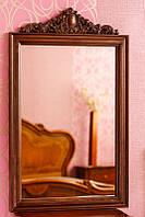 Код М-006.1. Зеркало в деревянной раме с резьбой Коллекция Фабио, фото 1