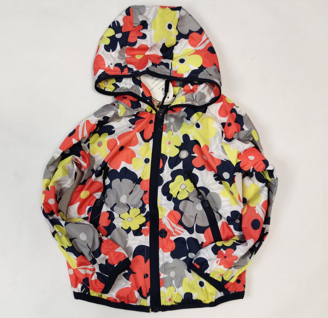 демисезонная курточка красная цвета для девочки