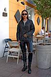 Женский стильный кардиган пиджак пальтовое букле размер батал: 48-50, 52-54, 56-58, 60-62, фото 3