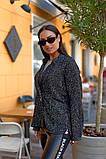 Женский стильный кардиган пиджак пальтовое букле размер батал: 48-50, 52-54, 56-58, 60-62, фото 9