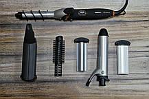 Мультистайлер 6в1 Gemei GM-2816 для завивки и выпрямления волос   Плойка для волос 6в1   Утюжок для волос, фото 2