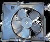 Вентилятор радиатора в сборе с диффузором Aвeo с кондиционером. Корея Оригинал 96536666